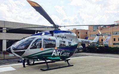 METRO AVIATION DISPLAYS EC145E AT AIR MEDICAL TRANSPORT CONFERENCE