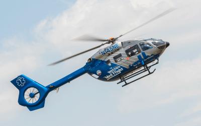 Metro Aviation delivers H145 to Boston MedFlight