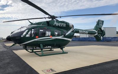 Metro Aviation delivers H145 to Avera Careflight