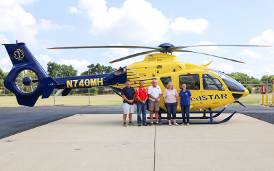 Metro Aviation delivers H135 to Washington Hospital Center